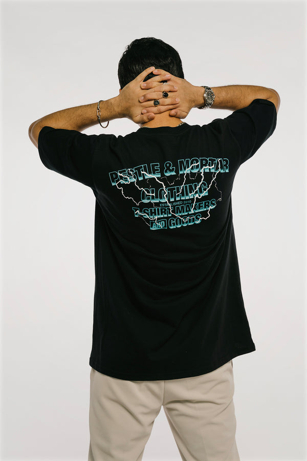 Storm Flying Mechanic Tee Black