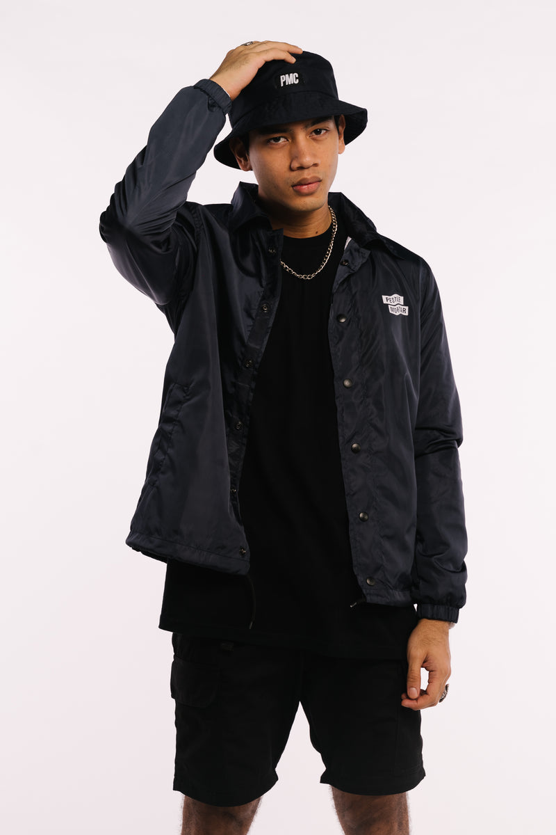 Flying Mechanic Coaches Jacket Black