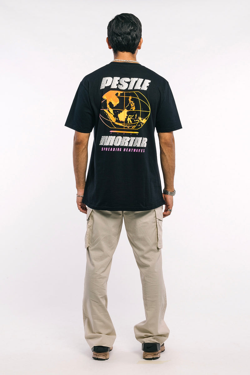Heatwave Tee Black