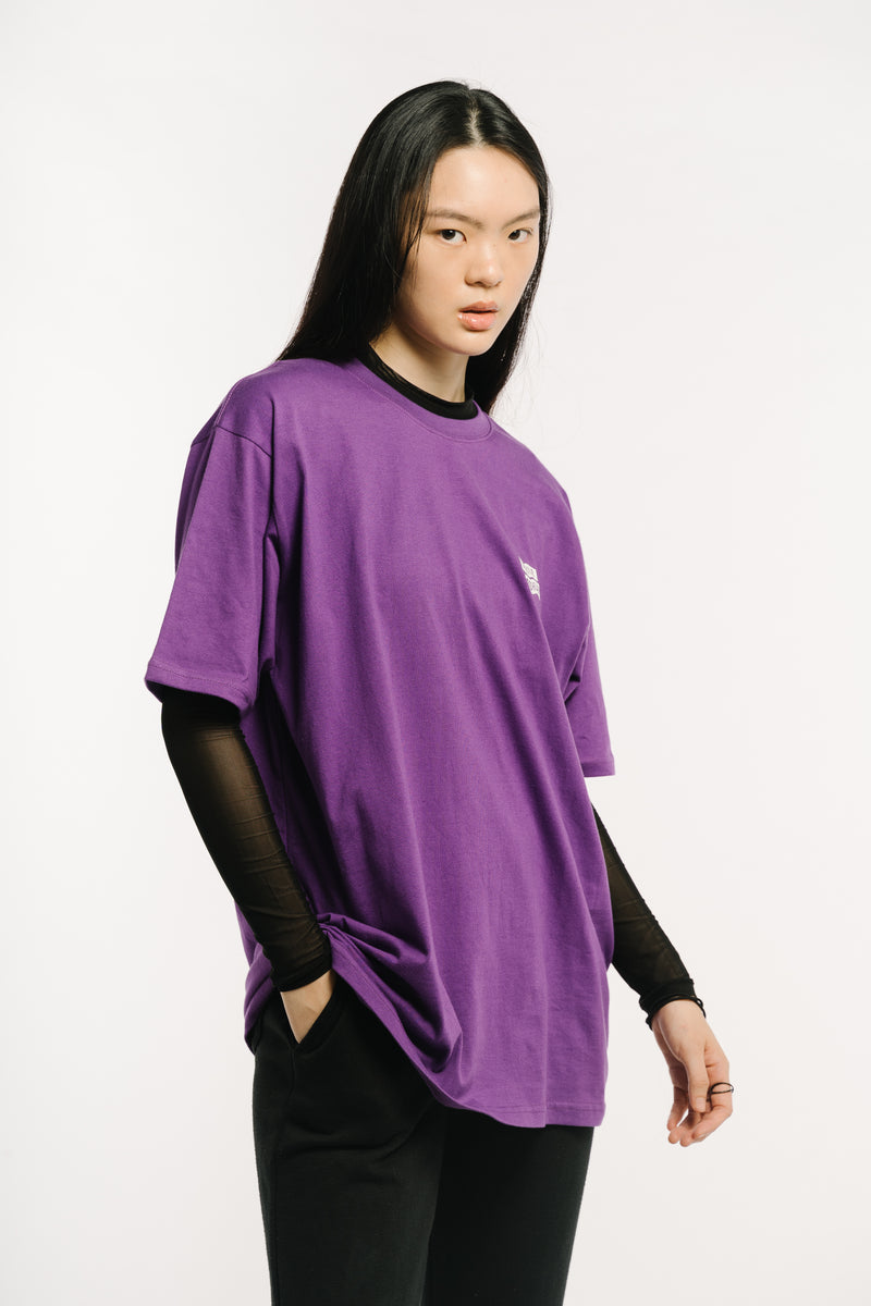 Flying Mechanic Tee Purple