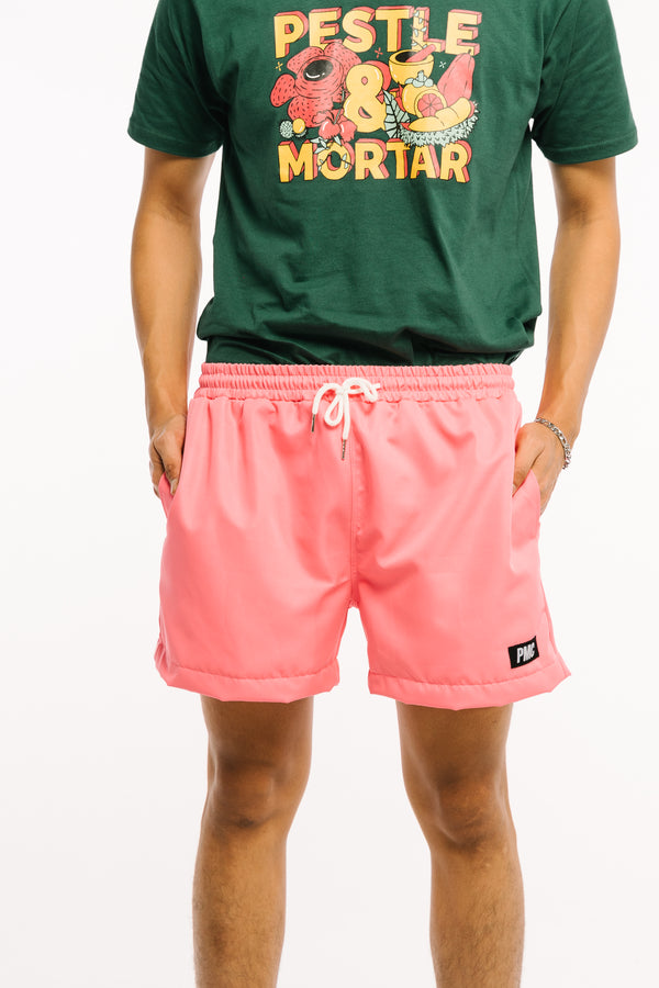 Strike Swim Shorts Pink