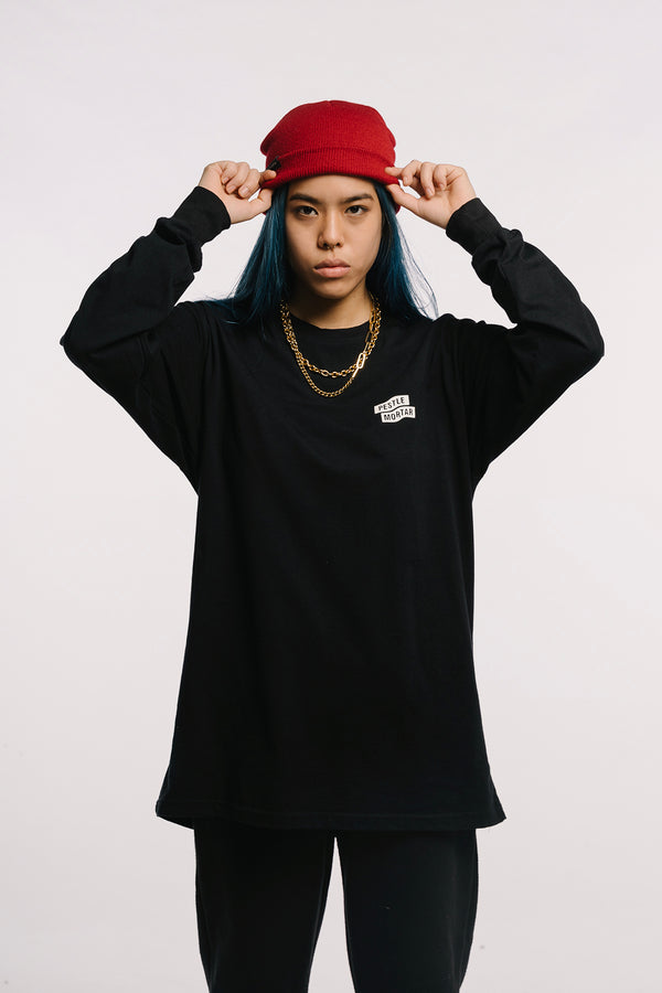Flying Mechanic L/S Tee Black