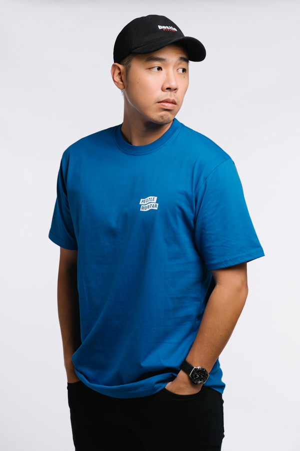 Flying Mechanic Tee Royal Blue