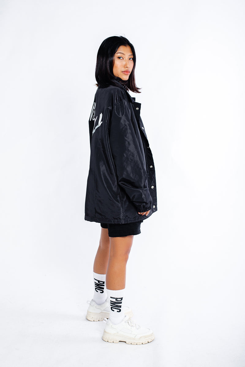 PMC x Looney Tunes Bugs Bunny Coaches Jacket Black