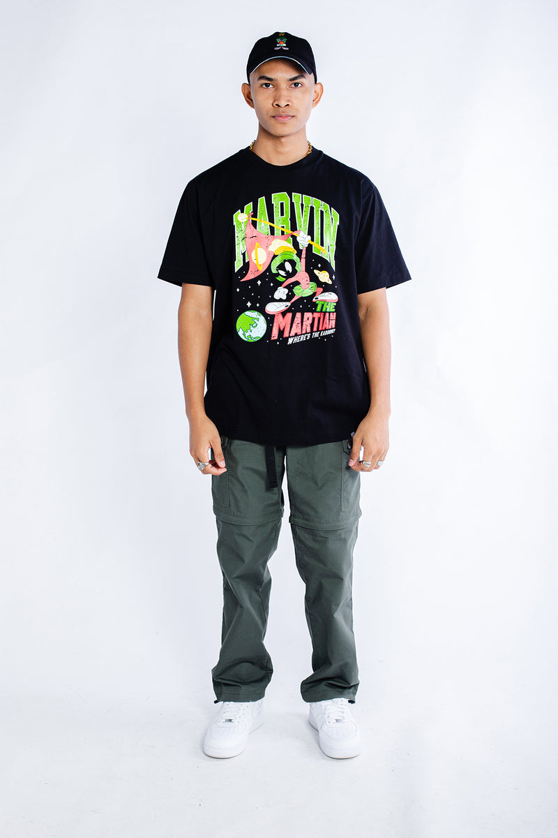 PMC x Looney Tunes Marvin The Martian Tee Black