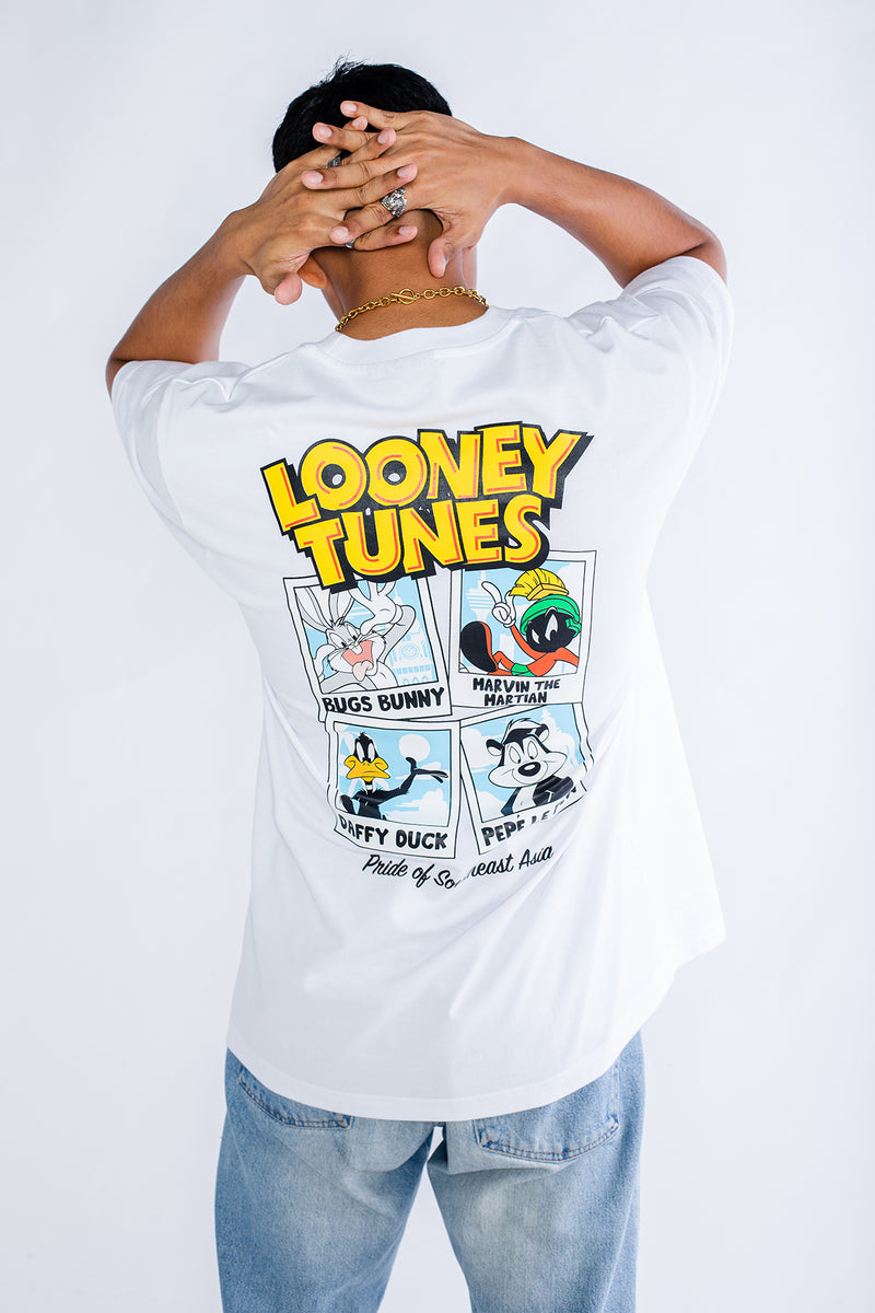PMC x Looney Tunes Malaysian Vacation Tee White