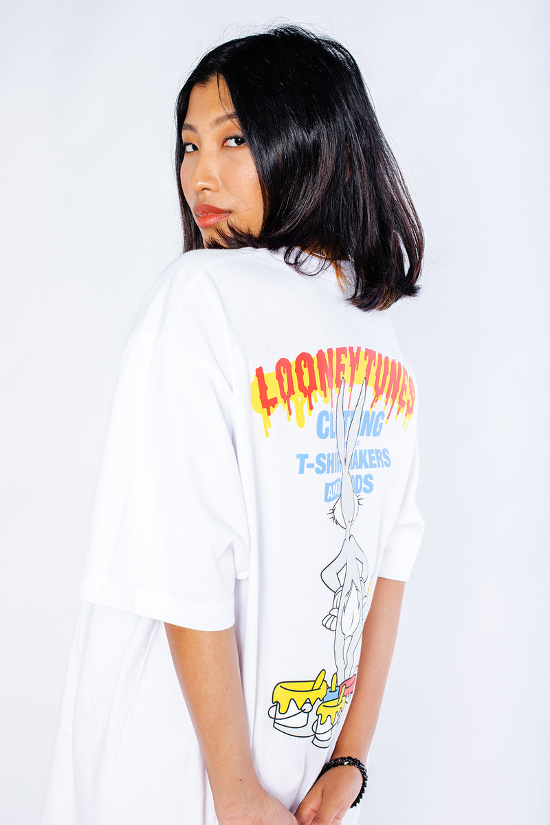 PMC x Looney Tunes Flying Mechanic Tee Bugs Bunny White