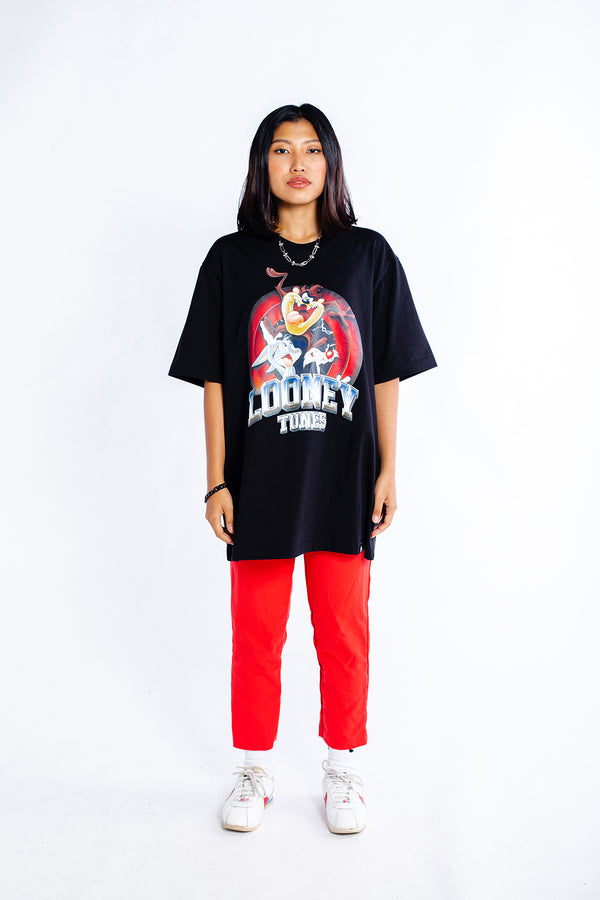 PMC x Looney Tunes Band Tee Black