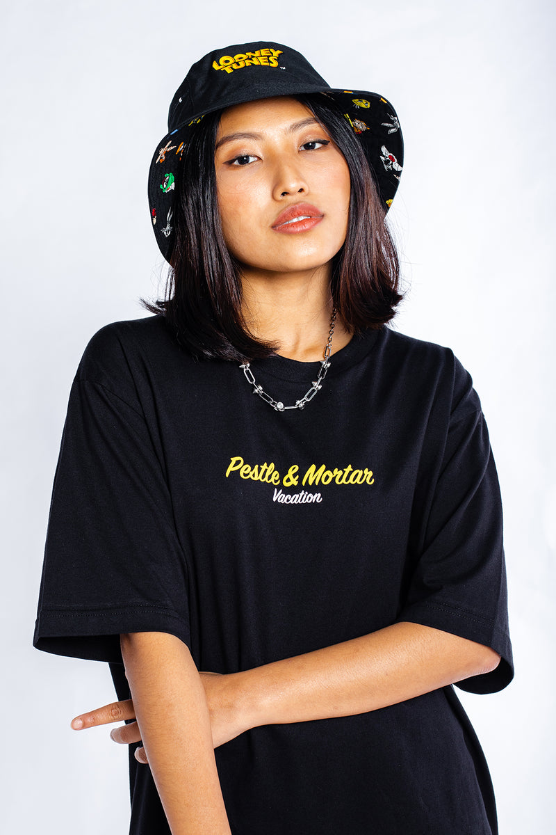 PMC x Looney Tunes Malaysian Vacation Tee Black
