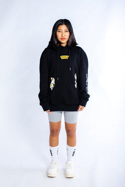PMC x Looney Tunes Bunny Chase Hoodie Black