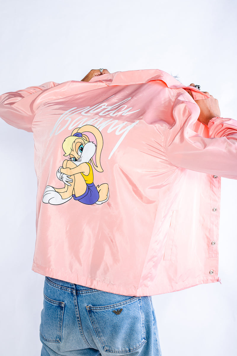PMC x Looney Tunes Lola Bunny Coaches Jacket Pink