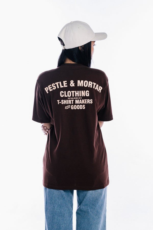 Flying Mechanic Tee Brown