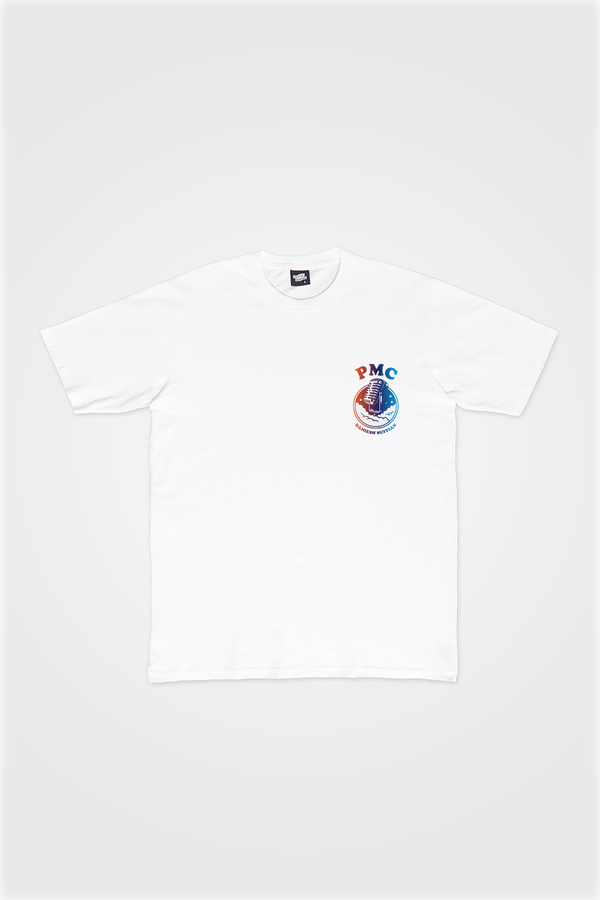 PMC x Daniesh Suffian : Musical Journey Tee White