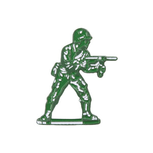 Toy Soldier Pin flatlay - front view