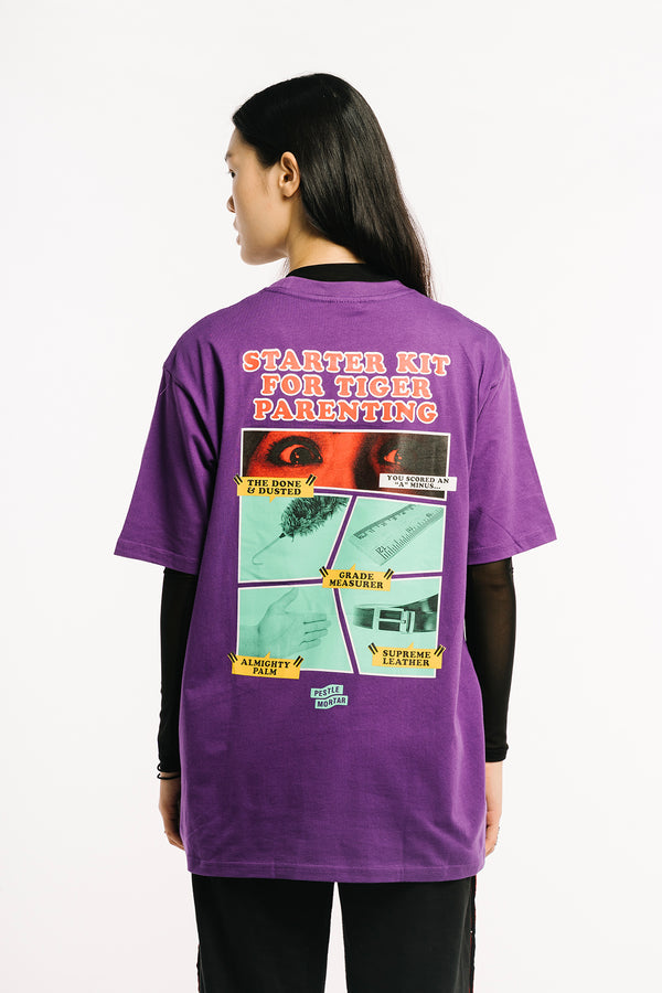 Inevitable Whoopers Tee Purple