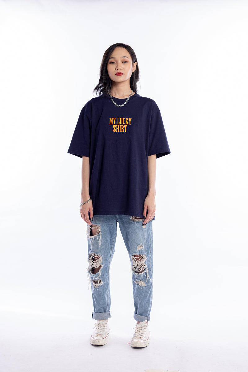 Lucky Shirt Tee Navy Blue