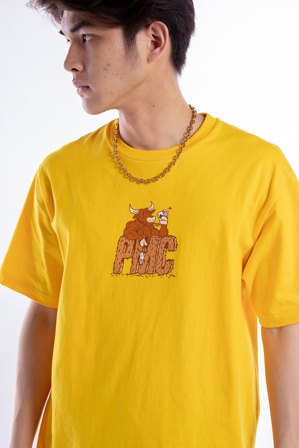 Ox Tee Yellow