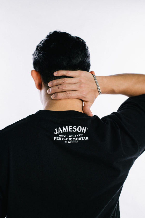 Jameson x PMC Sine Metu Tee Black