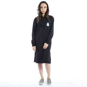 Arcvant Garde Hoodie Dress Black