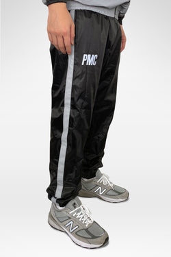 Strike Logo Reflective Track Pants Black