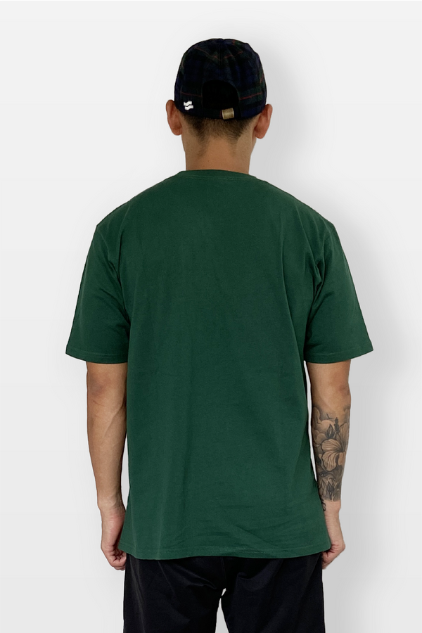 Tropical Tee Forest Green