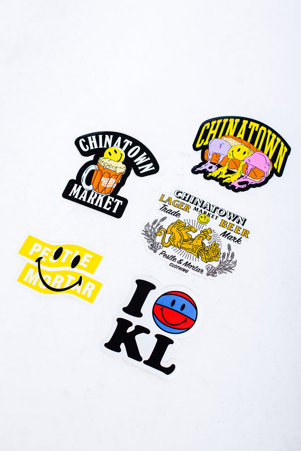 CTM x PMC 5pc Sticker Pack Set