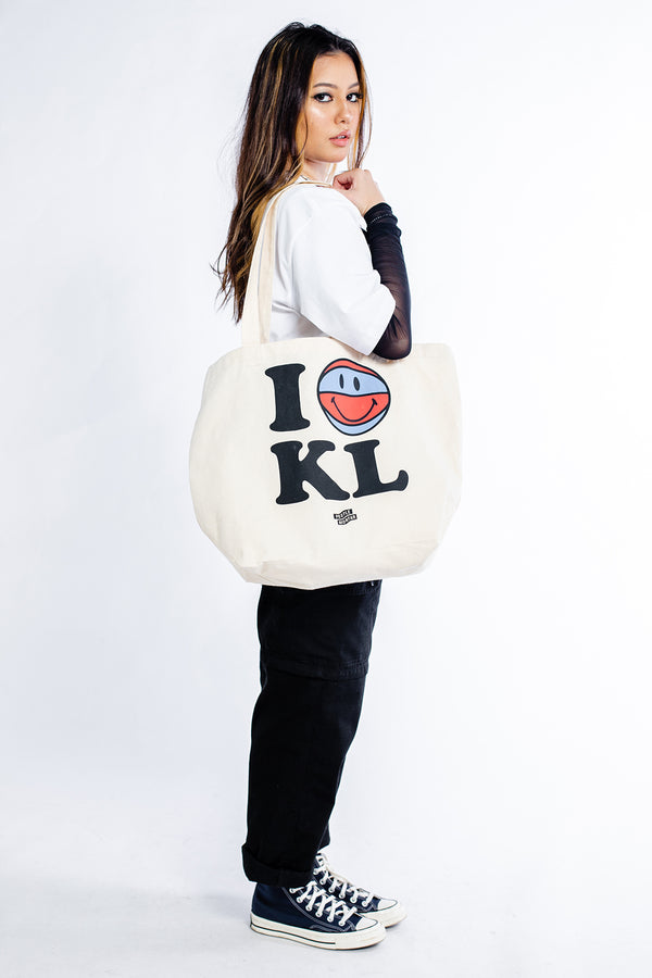 I Love KL Tote Bag