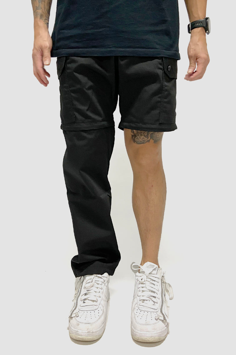 Strike Logo Convertible Cargo Pants Black