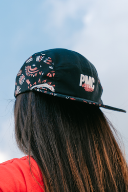 PMC x AirAsia Naga 5-Panel Cap Black