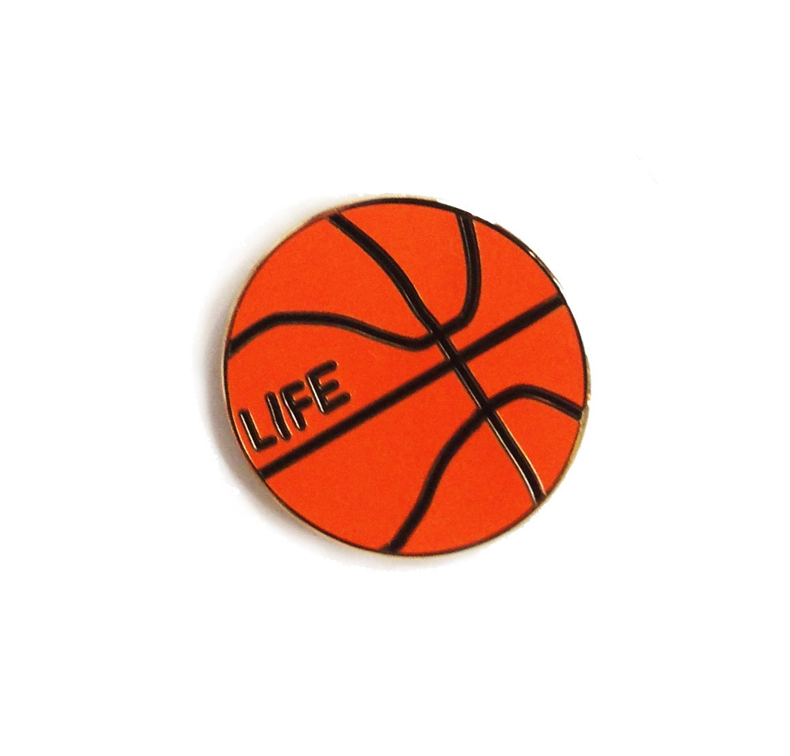 Ball is Life Pin