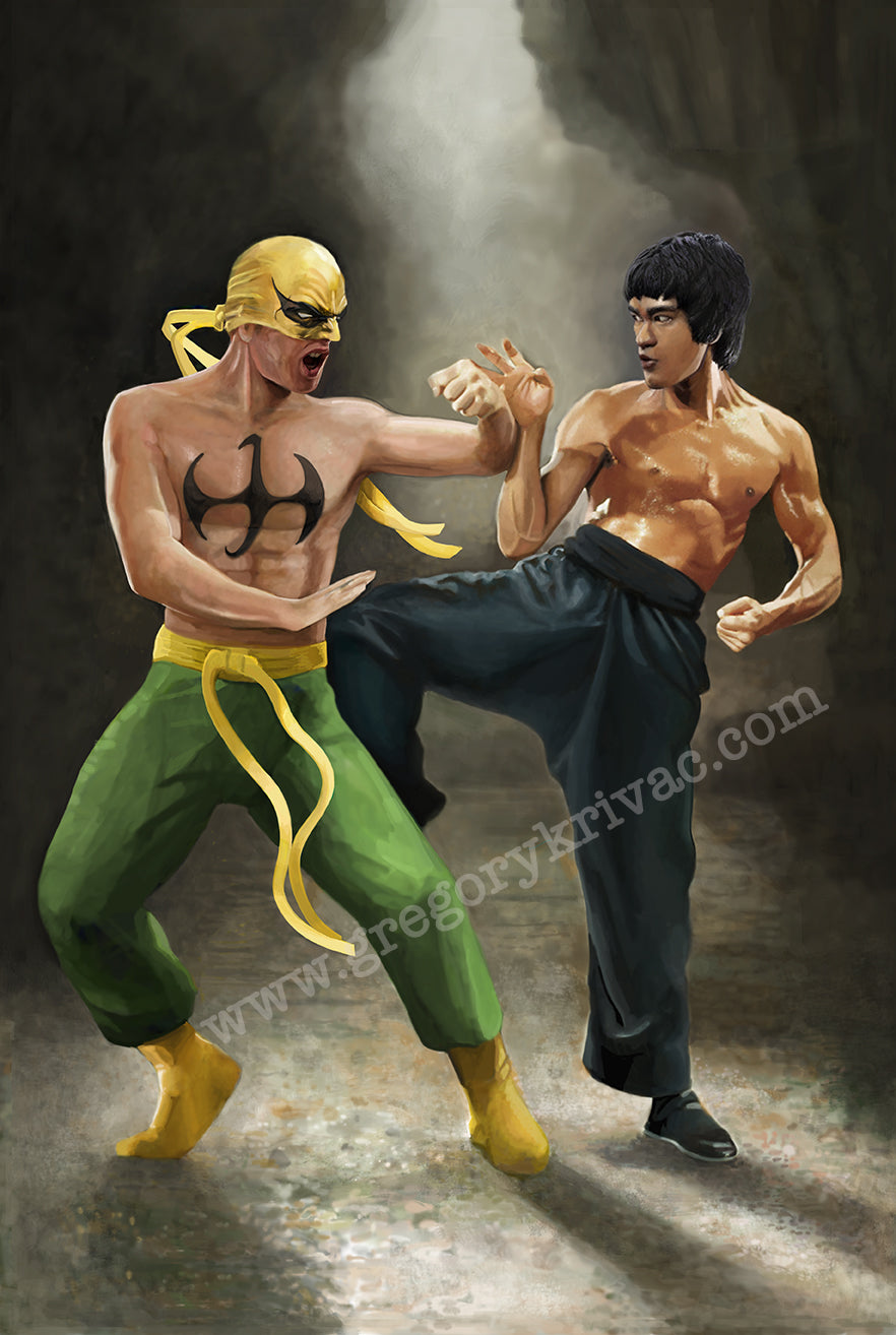 Bruce Lee Fighting Iron Fist