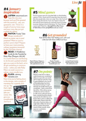 Hanako Therapies featuring in Women's Fitness Magazine