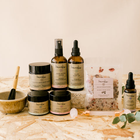Glowing Goddess Botanical Skincare Gift Set