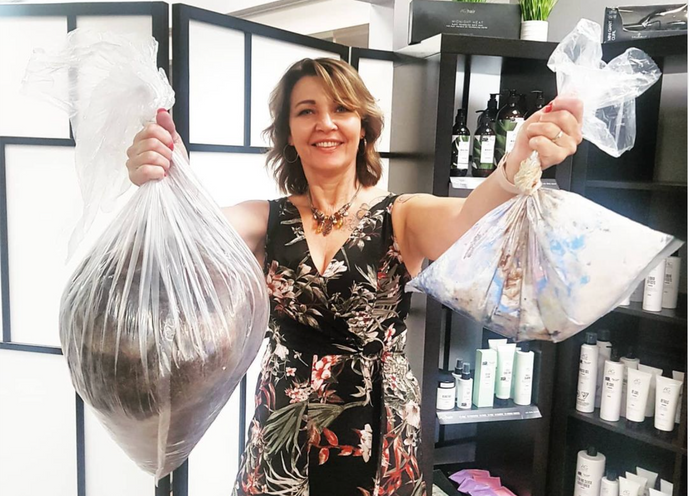 Green Circle Salons's Recycling Program
