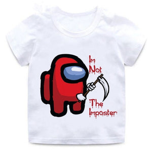 T-Shirt Enfant Among Us Not The Imposter