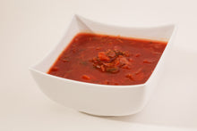 Load image into Gallery viewer, beet borsch tangy and hearty vegetable soup