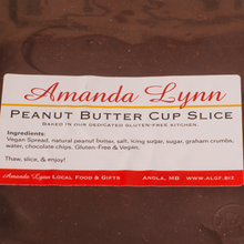 Load image into Gallery viewer, Peanut Butter Cup Slice ingredients listed
