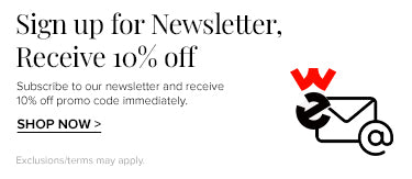 Sign up for Newsletters and get 10% off