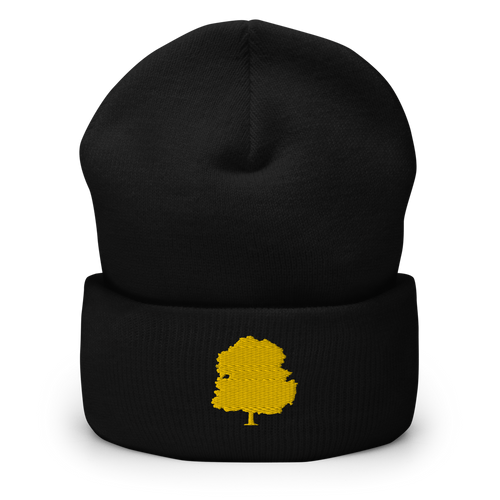 Tree Beanie - Black