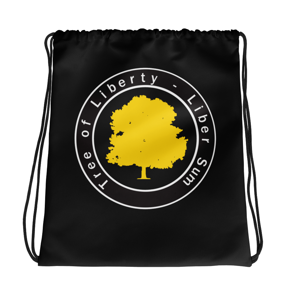 Tree of Liberty Drawstring Bag