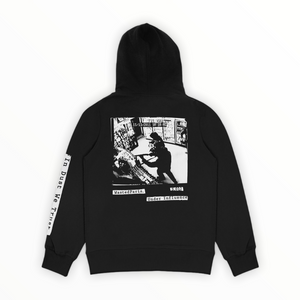 Hoodie In Dust we Trust black