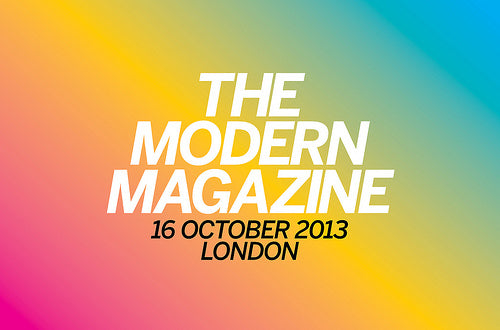 Notes from The Modern Magazine conference