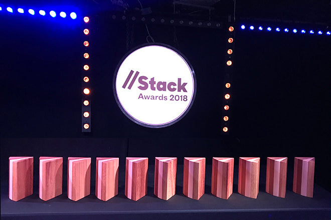 The Stack Awards, winners 2018