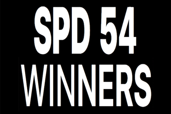 SPD 54 winners announced