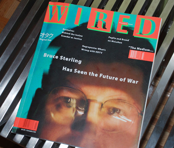 Remembering the launch issue of Wired