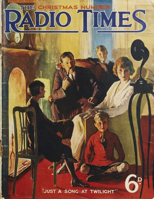 Christmas 1923 Illustration By Abbey (Kay?)