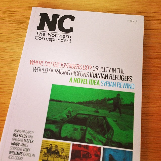 Out now: The Northern Correspondent, long-form journalism from north East England. #tw