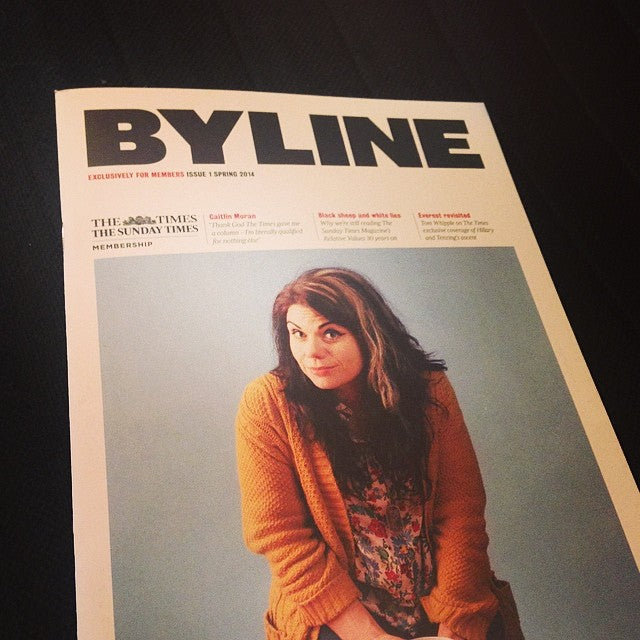 Out now: Byline, new members magazine for Times subscribers full story: http://www.creativereview.co.uk/cr-blog/2014/april/the-times-byline-magazine