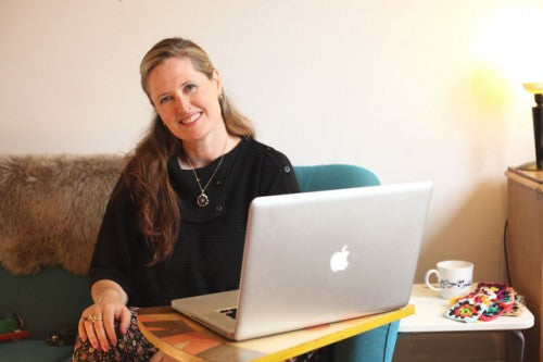 Amelia Gregory at work 2014-magculture