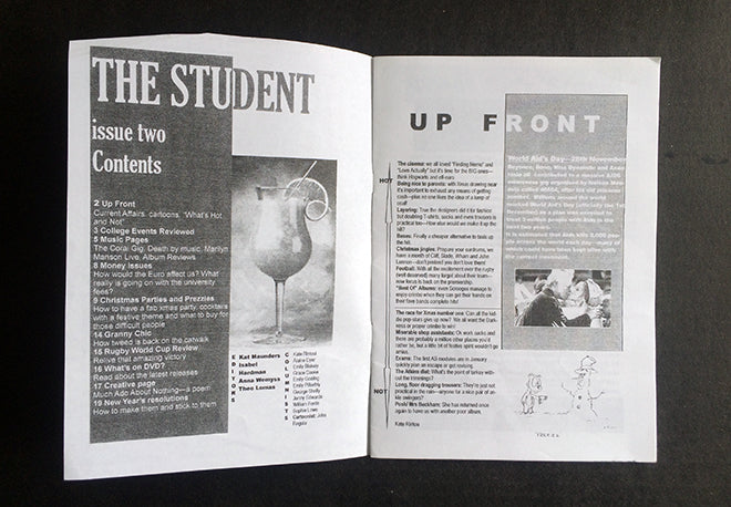 The Student spread1